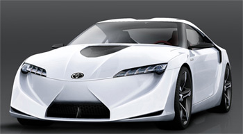 FT-HS : coupé sportif hybride de Toyota - Photo 1