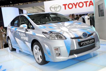 Francfort 2009 - Toyota Prius III hybride rechargeable - Photo 1