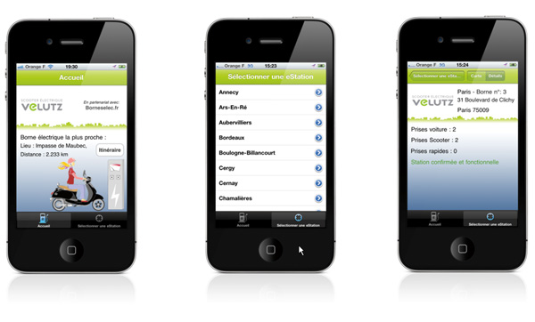 eStation - Une application iPhone pour localiser les bornes de recharge en France - Photo 2
