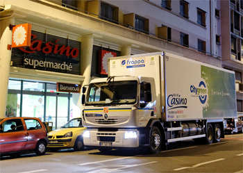 Un camion hybride pour le Groupe Casino - Photo 1
