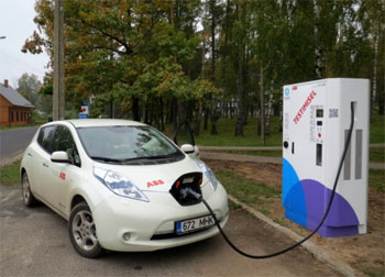 Charge rapide - ABB inaugure le plus grand réseau d'Europe en Estonie - Photo 1