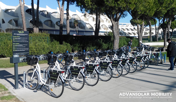 Des stations vae cycl e port camargue avec advansolar - Capitainerie port camargue ...