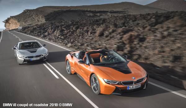 La voiture de sport du futur BMW i8 se décline en roadster